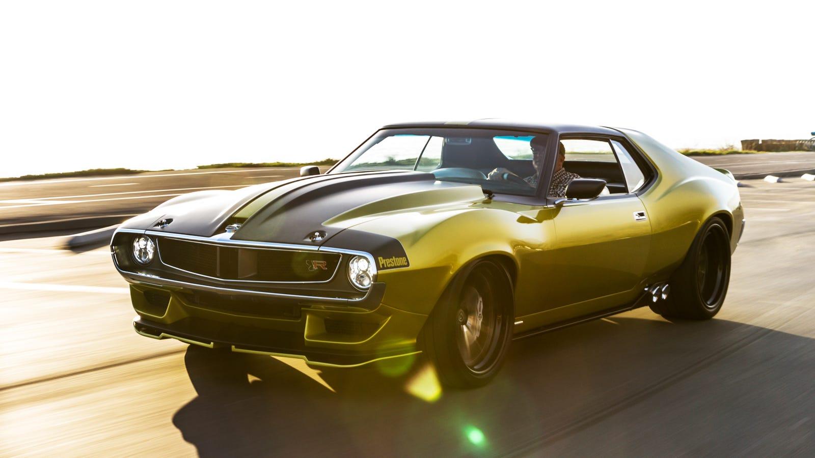 Progressive Dodge >> I Drove The 1,000 HP Hellcat-Powered 'Jalop Gold' AMC Javelin; It Was Bonkers