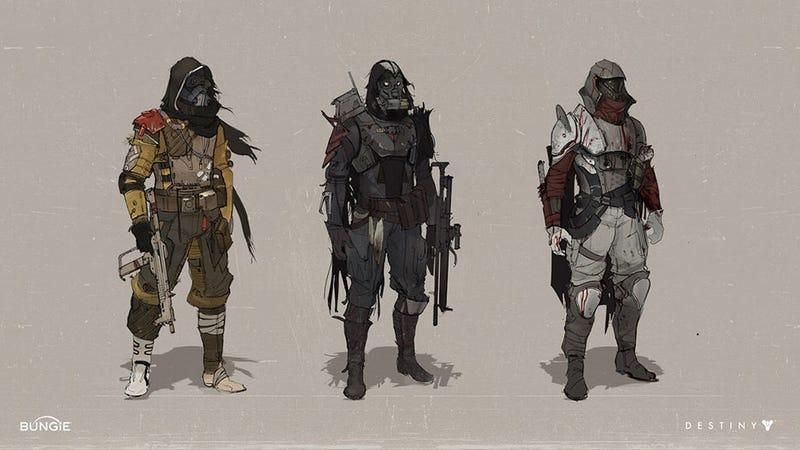 Illustration for article titled In Destiny's Bleak Future, Scarves Need Mending
