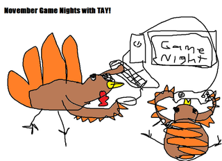 Illustration for article titled TAY Game Night: November Schedule (Revised)