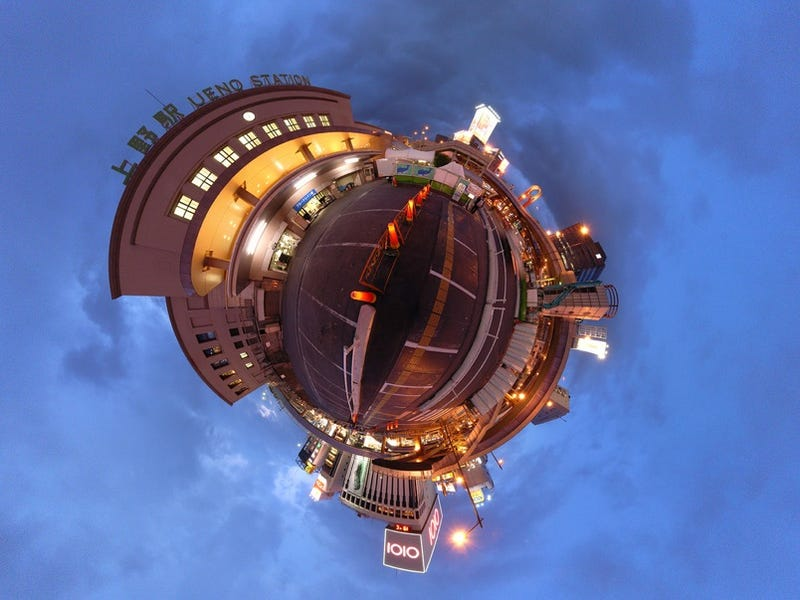 Illustration for article titled Stereographic Images Of Tokyo