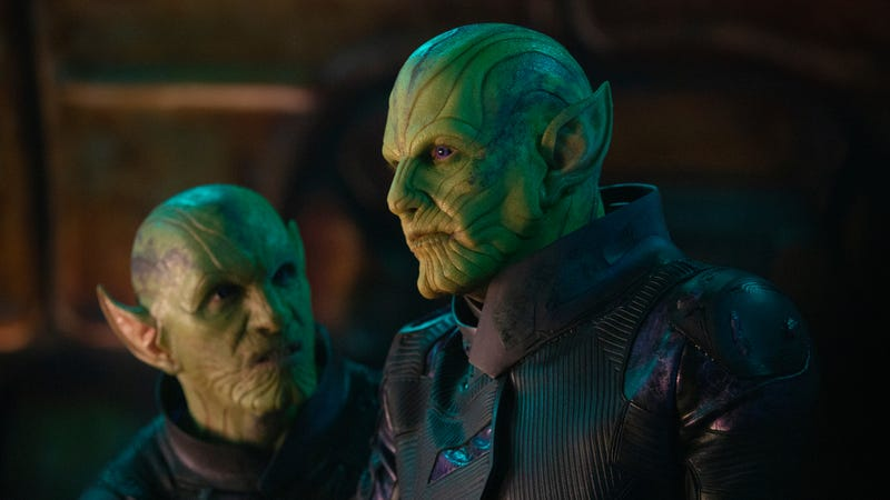 Captain Marvel39s Cat Actors Had Trouble Performing With Skrulls