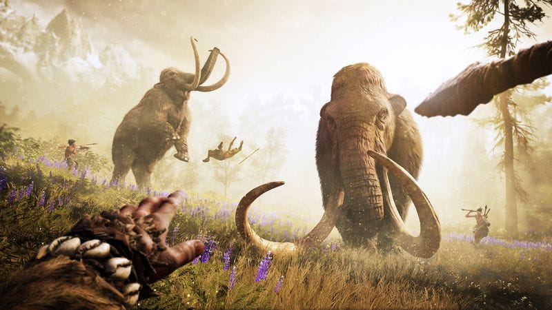 Illustration for article titled Far Cry Primal takes the series back to the Stone Age