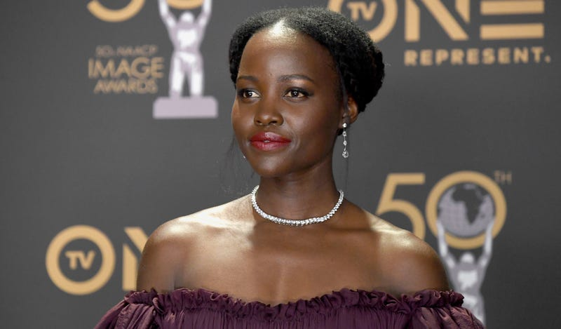 Lupita Nyong'o attends the 50th NAACP Image Awards on March 30, 2019 in Hollywood, California.