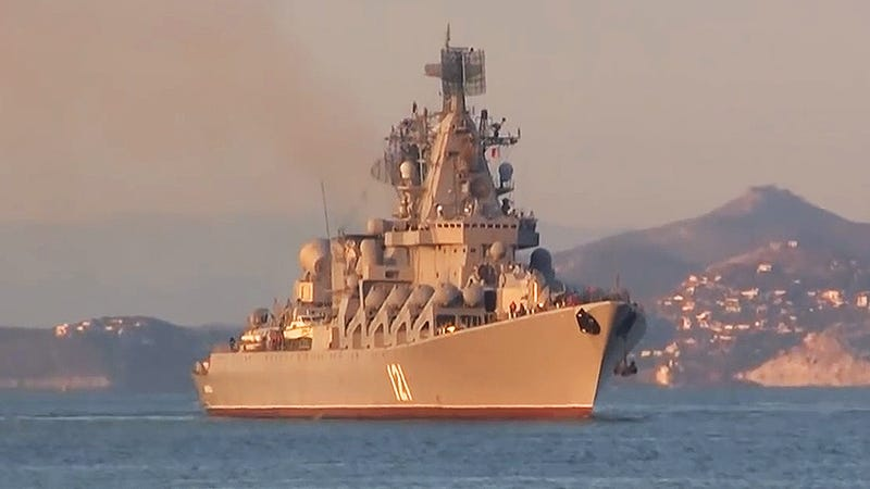 Illustration for article titled Russian Ships Enter The Mediterranean As Fighters Test Turkey's Airspace