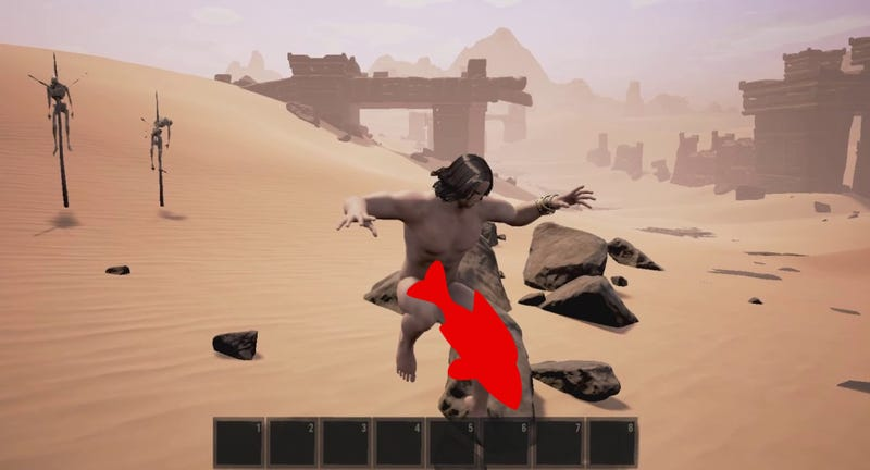 Conan Exiles Player Uses Mods To Make Everything Gigantic (Dicks Included)