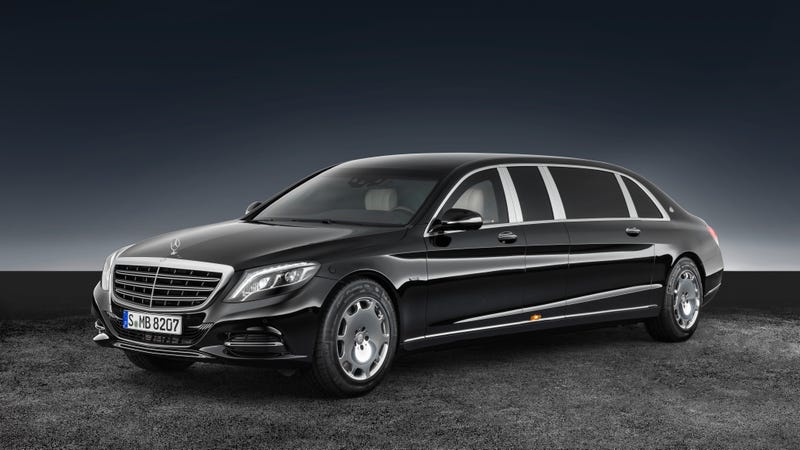 Illustration for article titled The Mercedes-Maybach S 600 Pullman Guard Will Save Your Hide When The World Goes Mad