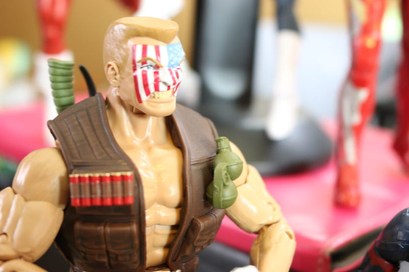 Toy time Builds A Huge Man out Of Marvel Legends Motion Figures