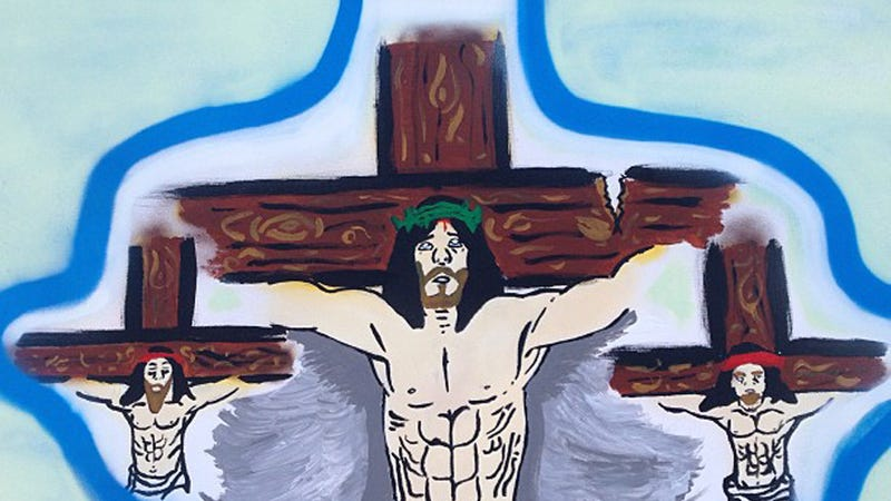 Illustration for article titled Aw, Poor Chris Brown Is Feeling Crucified