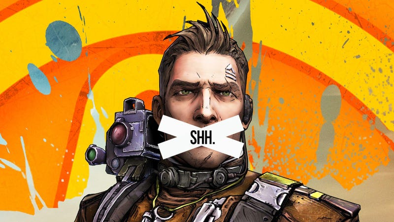 Illustration for article titled Thank God I Can Make My Borderlands 2 Character Stop Yapping