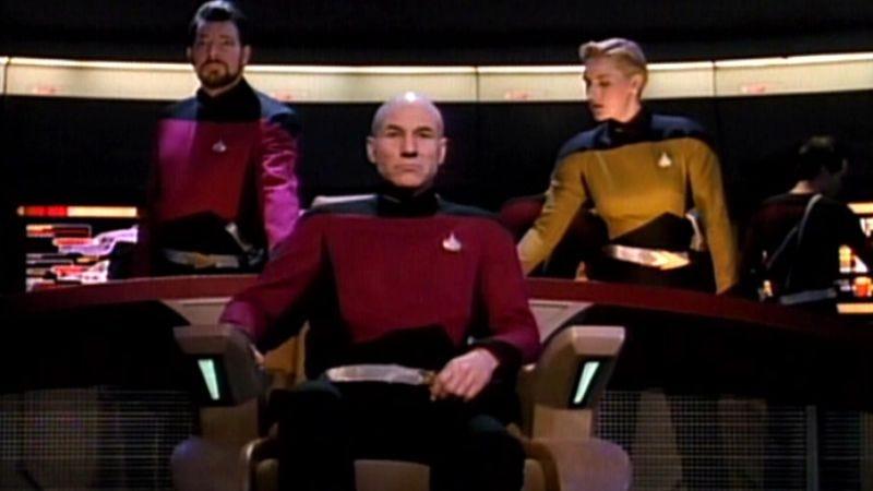 "Illustration for article titled Star Trek: The Next Generation: ""Yesterday's Enterprise""/""The Offspring"""