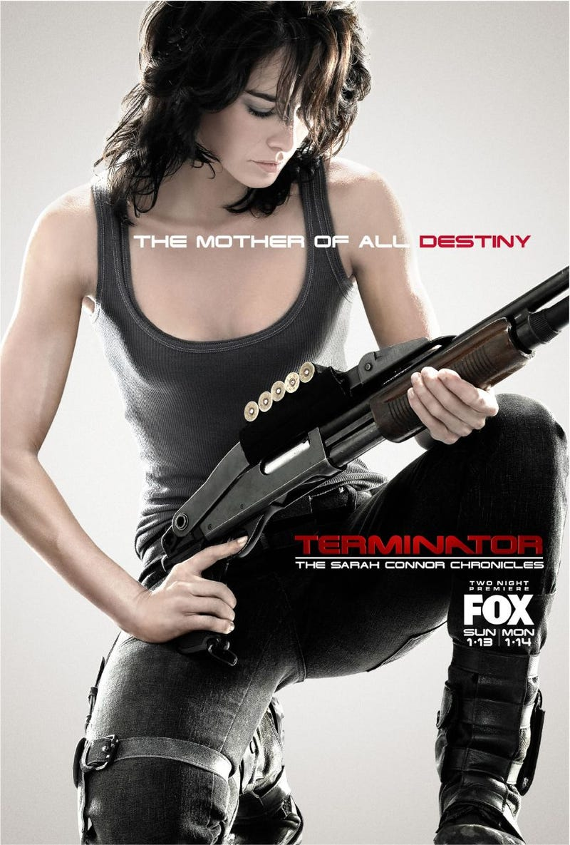 Terminator The Sarah Connor Chronicles Posters Trailer Are