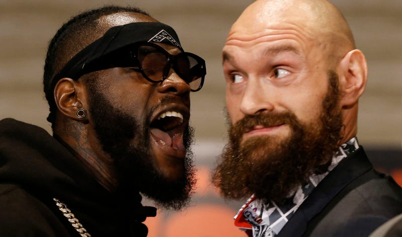 Illustration for article titled Deontay Wilder Is Talking The Good Shit Ahead Of His Fight With Tyson Fury