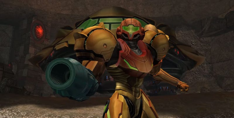 Illustration for article titled 4K Version Of Metroid Prime 2 Is Using Textures Upscaled By A Neural Network