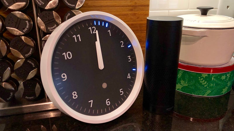 amazon echo wall clock review the kitchen timer missing link