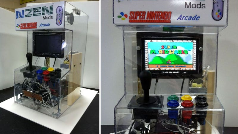 Turn a Super Nintendo into an Arcade Machine