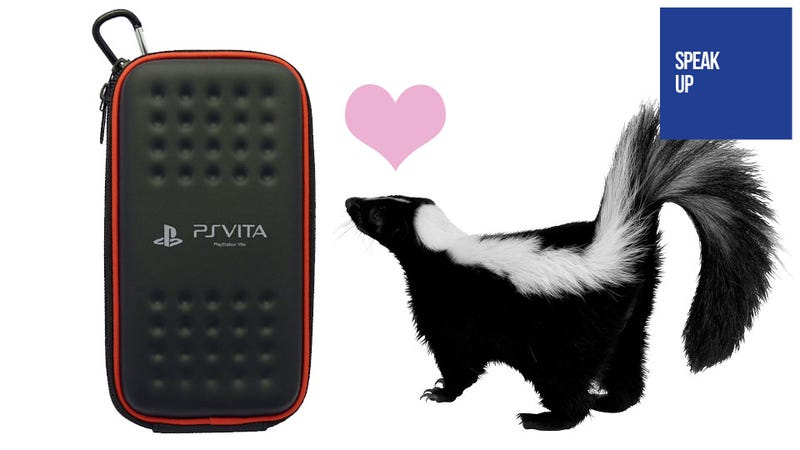 Illustration for article titled The Case of the Foul-Smelling PS Vita Case