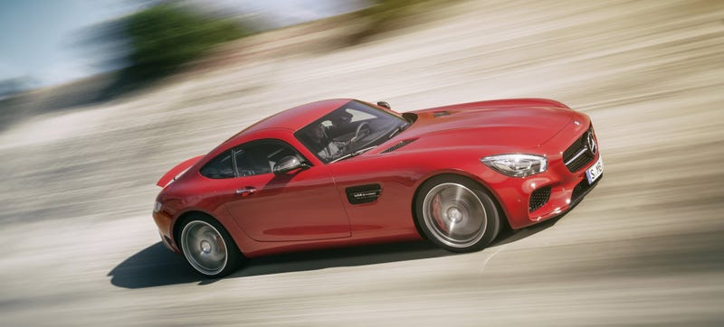 Illustration for article titled The Mercedes-AMG GT S Is A 503 HP Land Missile Aimed At Porsche