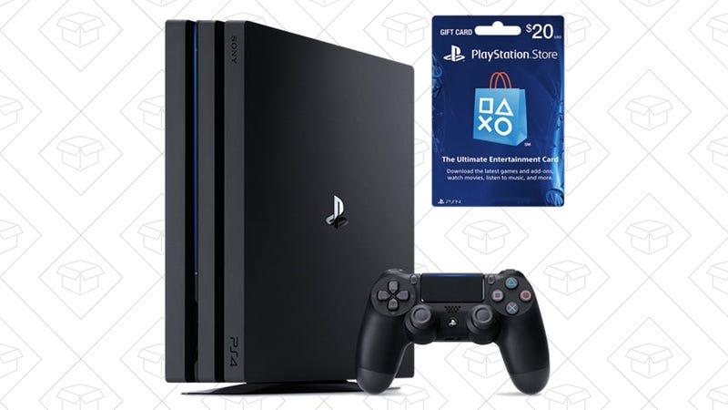 Sony PlayStation 4 Pro - 1TB + $20 PlayStation Network Card (Pre-Order), $400