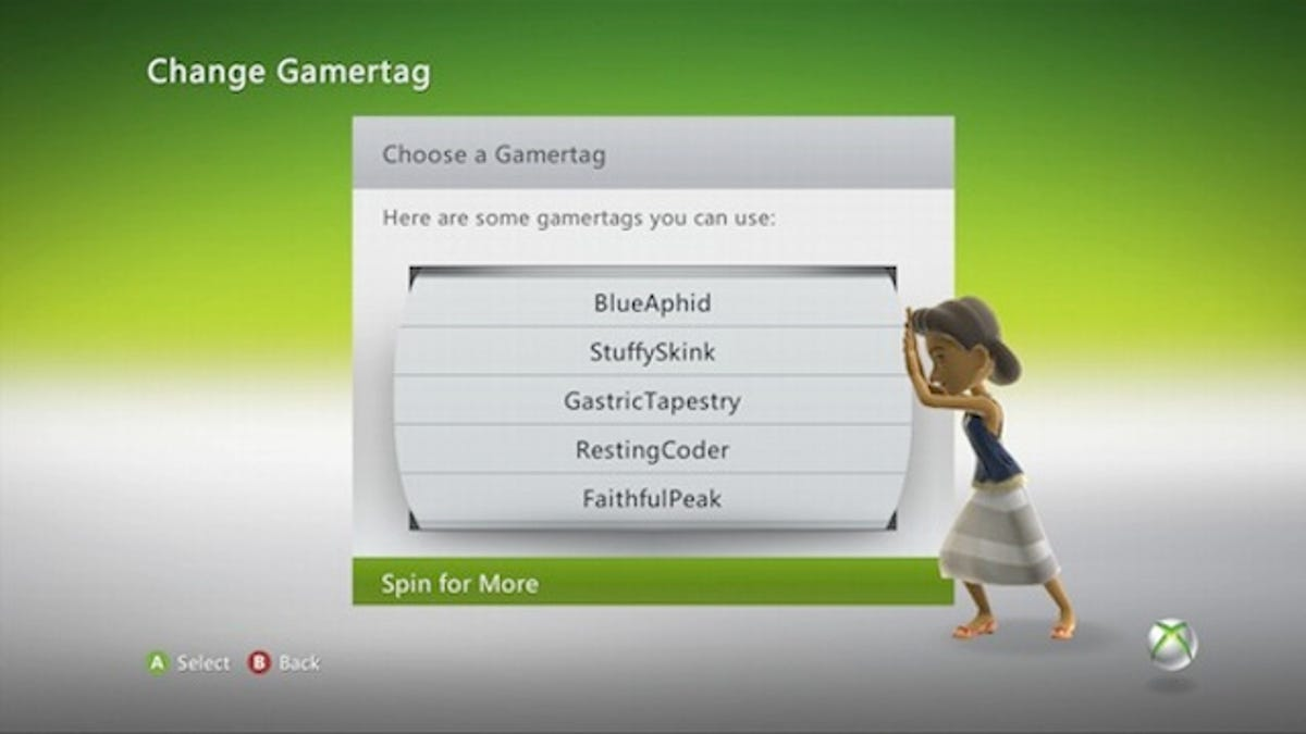 Good girl gamertags