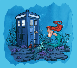 Illustration for article titled Doctor Who Meets Disney