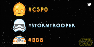 Illustration for article titled #C3PO Is Trending: Now Star Wars Emoji Are Just a Hashtag Away