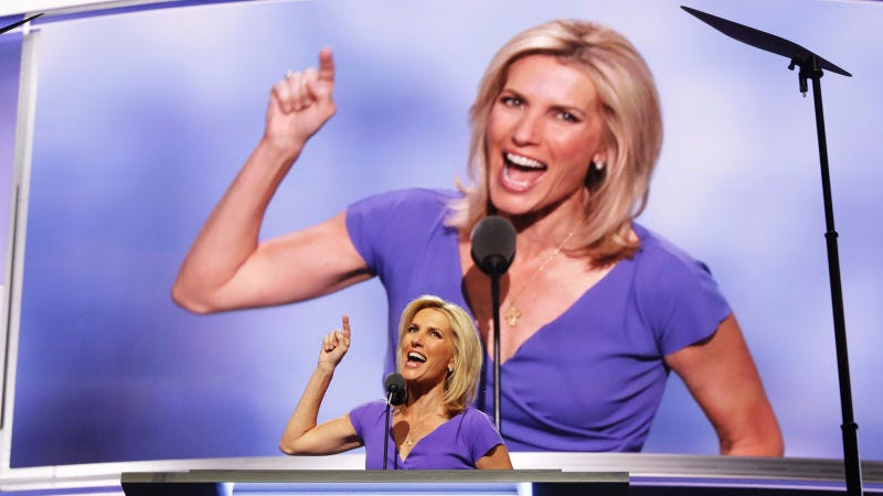 "Illustration for article titled Laura Ingraham is going on ""vacation""; no reason, really, why, what have you heard?"