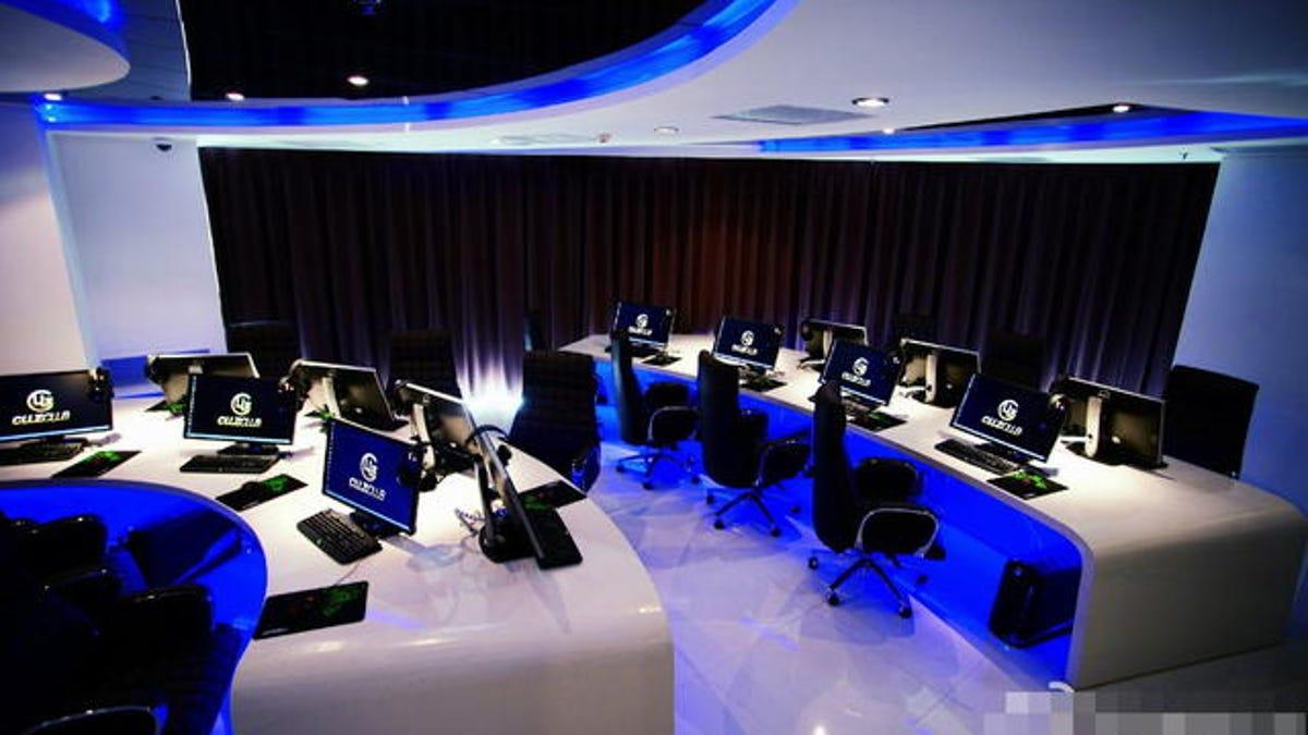 Beijing's New Swanky Internet Cafe Has Insane Fees
