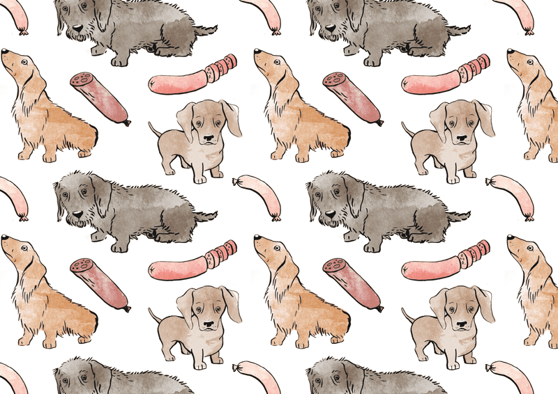 Illustration for article titled Sausages and sausage dogs