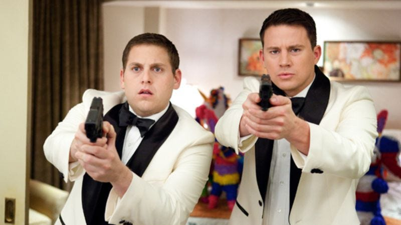 Illustration for article titled Channing Tatum and Jonah Hill