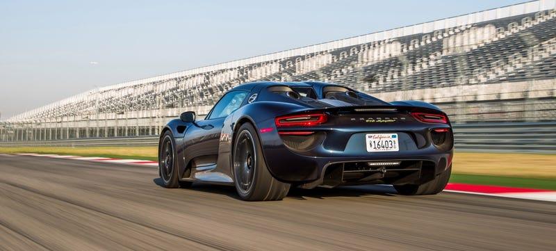 Illustration for article titled Porsche Recalls $850,000 918 Spyder