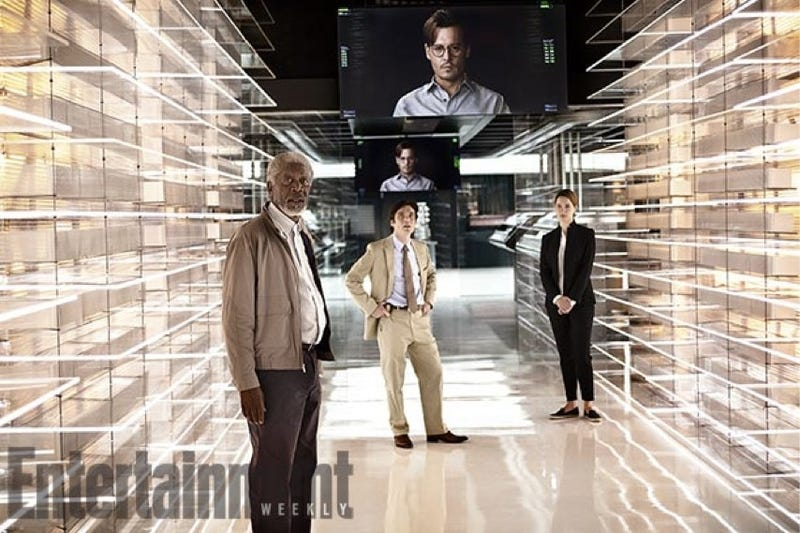 Illustration for article titled First look at Johnny Depp's robot creation lab in Transcendence