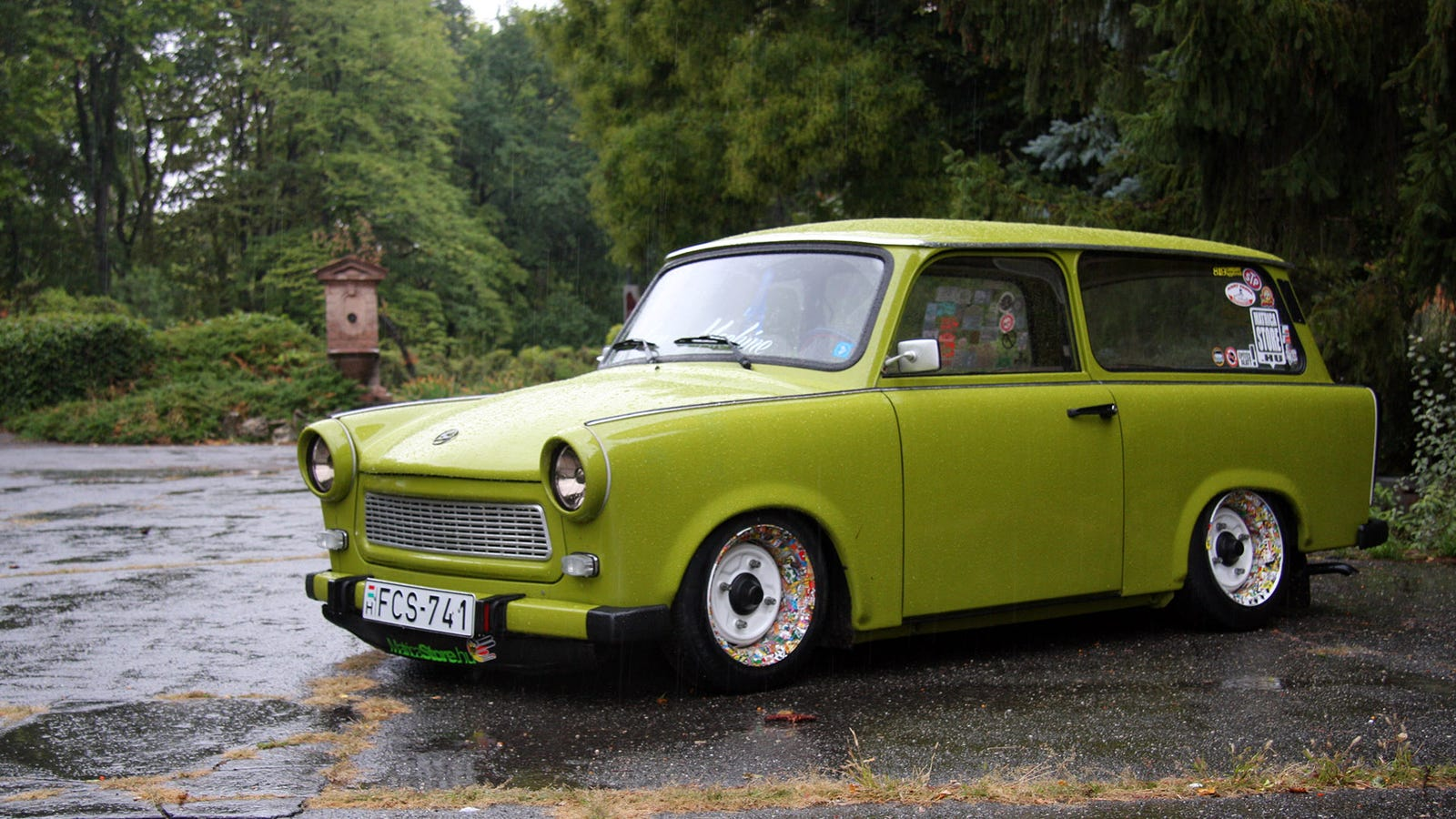The Trabant Is The Best Commie Car Made Of Cotton We Ve Ever Driven
