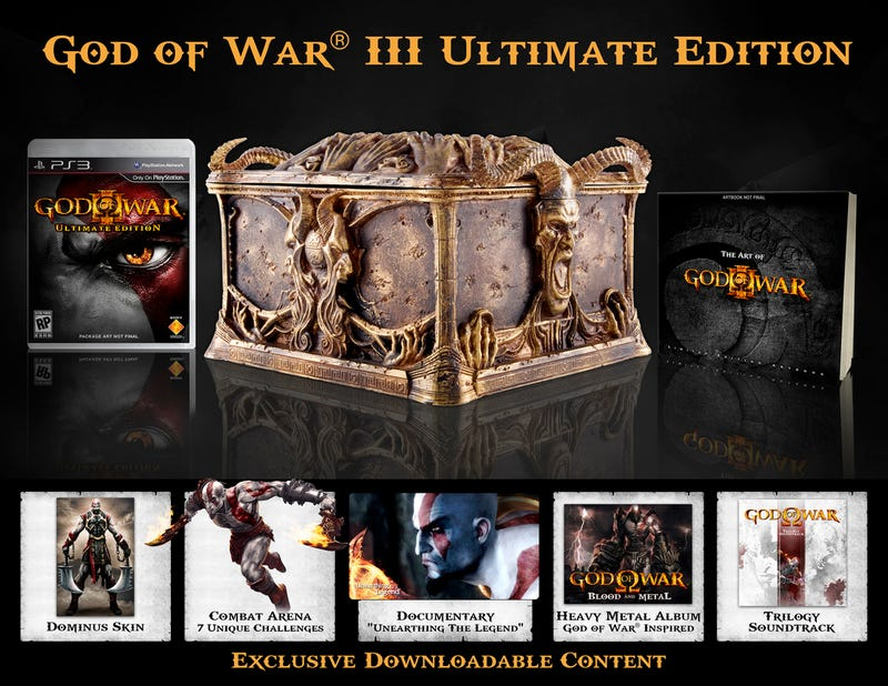 Illustration for article titled Behold, The God Of War III Ultimate Edition