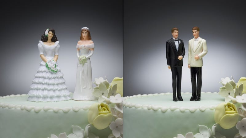 Illustration for article titled Another Asshole Bakery Refuses to Make Wedding Cakes for Gay Couples