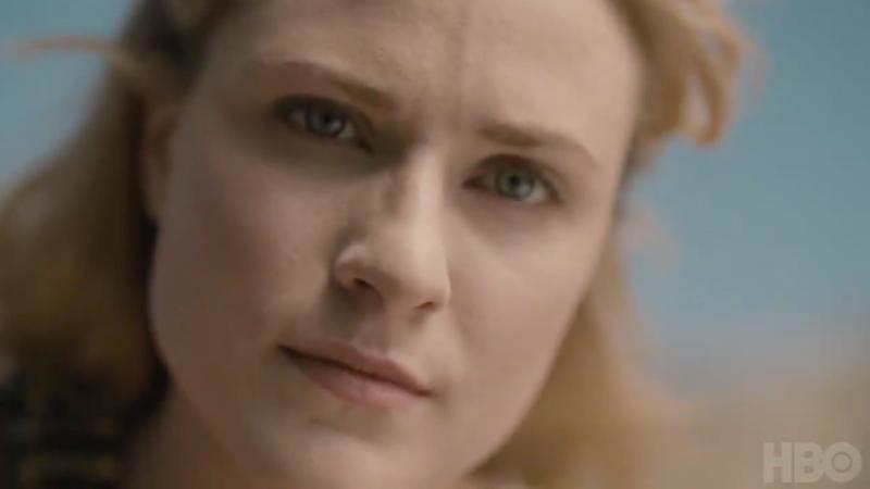 Dolores (Evan Rachel Wood) thinks you've been asleep long enough.