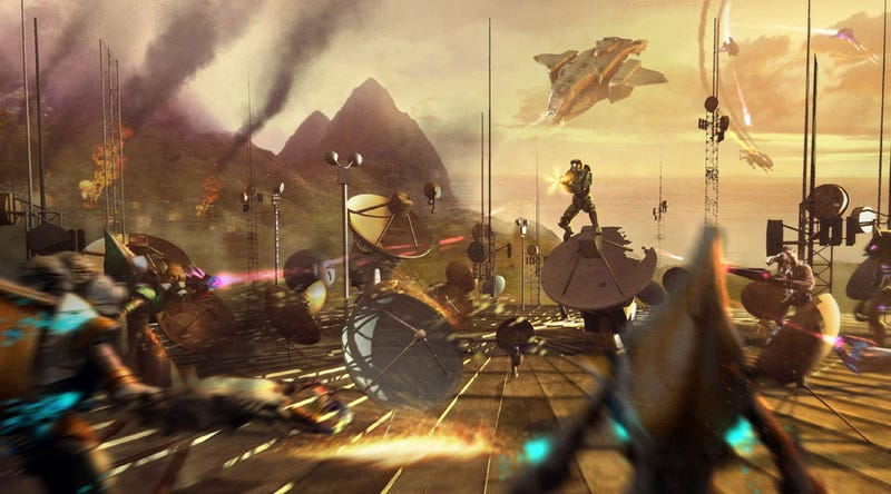 Illustration for article titled Steven Spielberg To Produce Halo Movie?