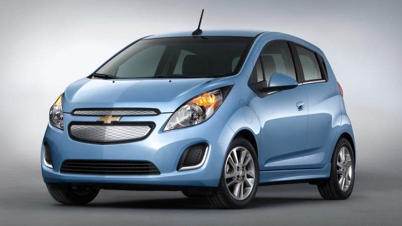 Ilration For Article Led 2017 Chevy Spark Ev The Electric Car Millennials