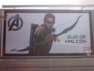 Illustration for article titled The Avengers International Billboard