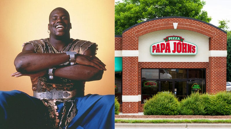 Illustration for article titled Kazaam! Shaq joins Papa John's board