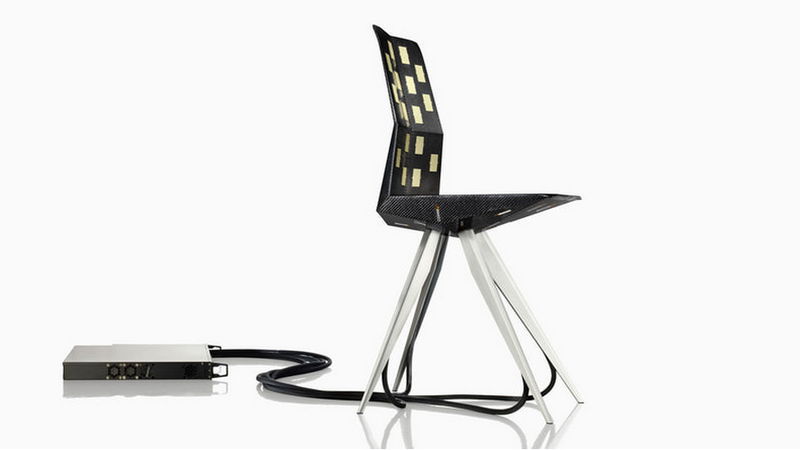 Illustration for article titled The Race Car-Inspired Chair Designed Using Direct Feedback From Your Butt