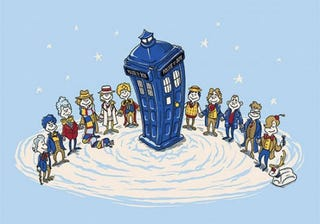 Illustration for article titled In Which I Recap 50 Years Of Doctor Who Like I Was Doctor Seuss