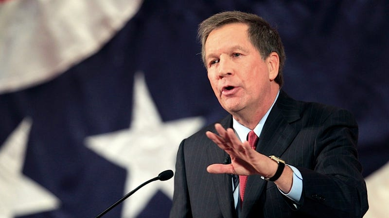 Illustration for article titled John Kasich Praises the Heroic Laundering of Political Spouses Everywhere
