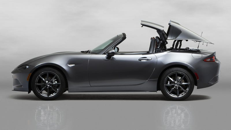 Illustration for article titled The 2017 Mazda Miata RF Hard Top Convertible: This Is It