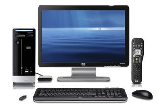Illustration for article titled HP Updates Slimline Desktop With Dual Blu-ray/HD Player, Offers New Monitors