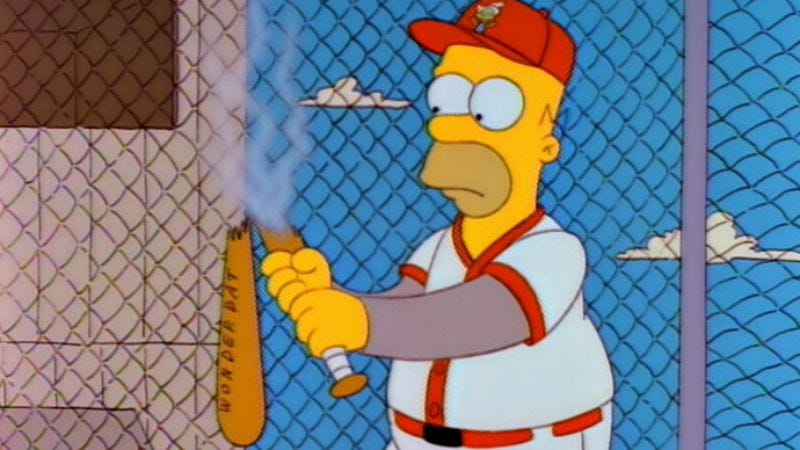 Illustration for article titled Homer Simpson to be inducted into Baseball Hall of Fame