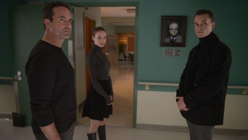 Jason Patric, Kacey Rohl, Tom Stevens (Photo: Sergei Bachlakov/FOX)