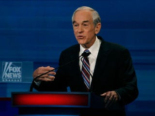 GOP presidential candidate Ron Paul (Getty Images)