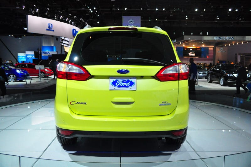 Illustration for article titled Ford C-Max Live Gallery