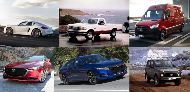 Illustration for article titled Here Are The Only Six Cars That Should Be Sold