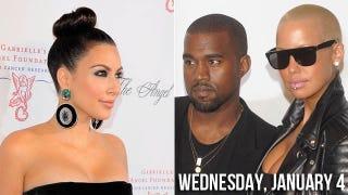 Illustration for article titled Confirmed: Kim Kardashian Sexploded Kanye & Amber's Relationship